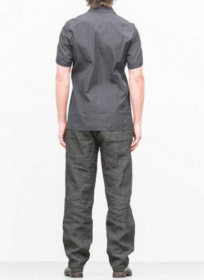 Individual Sentiments short sleeve shirt ss18 black cotton hide m 4