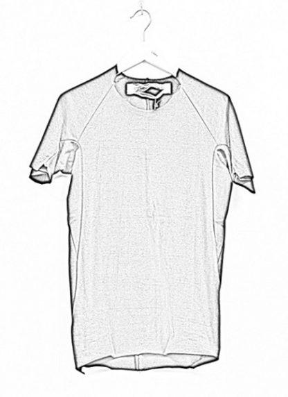 Individual Sentiments ss19 men solid tshirt cotton black hide m 1