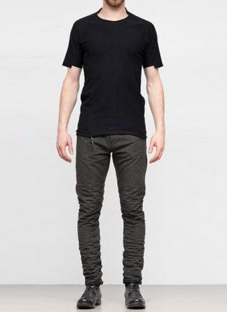Individual Sentiments ss19 men solid tshirt cotton black hide m 2