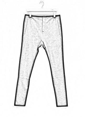 LABEL UNDER CONSTRUCTION men slim fit one cut pants herren hose 31FMPN86 CO201A RG cotton black hide m 1