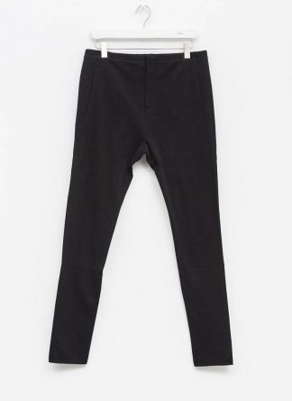 LABEL UNDER CONSTRUCTION men slim fit one cut pants herren hose 31FMPN86 CO201A RG cotton black hide m 2