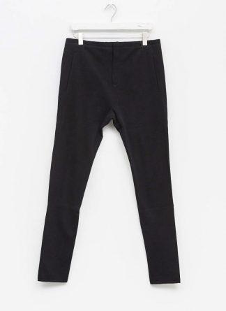 LABEL UNDER CONSTRUCTION men slim fit one cut pants herren hose 31FMPN86 CO201A RG cotton black hide m 2