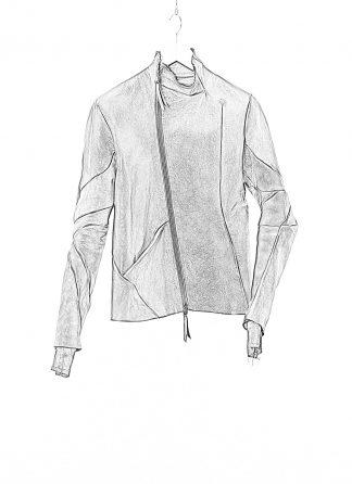 LEON EMANUEL BLANCK LEB Men Classic Distortion Jacket DIS M LJ 01 lined Herren Leder Jacke horse leather black hide m 1