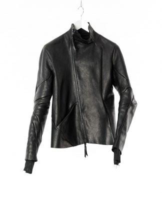 LEON EMANUEL BLANCK LEB Men Classic Distortion Jacket DIS M LJ 01 lined Herren Leder Jacke horse leather black hide m 22