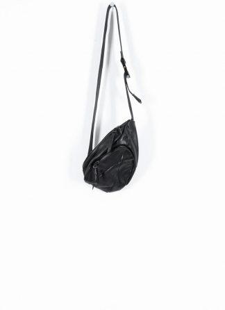 LEON EMANUEL BLANCK distortion dealer bag tasche DIS DB 01 S horse full grain leather black hide m 2