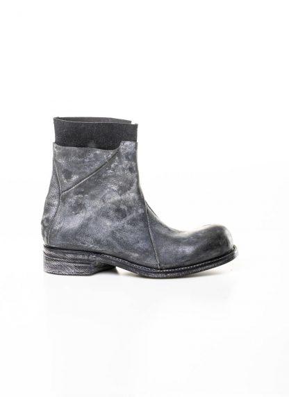 LEON EMANUEL BLANCK men distortion zip boot herren stiefel dis ab 01 horse rev leather grey hide m 3