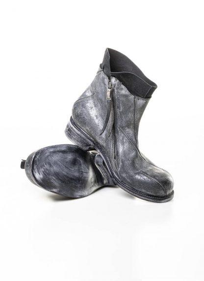 LEON EMANUEL BLANCK men distortion zip boot herren stiefel dis ab 01 horse rev leather grey hide m 7