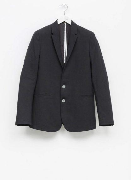 Label Under Construction men formal jacket herren blazer sakko jacke 31FMJC96 CC11B UN cotton acetat black hide m 2