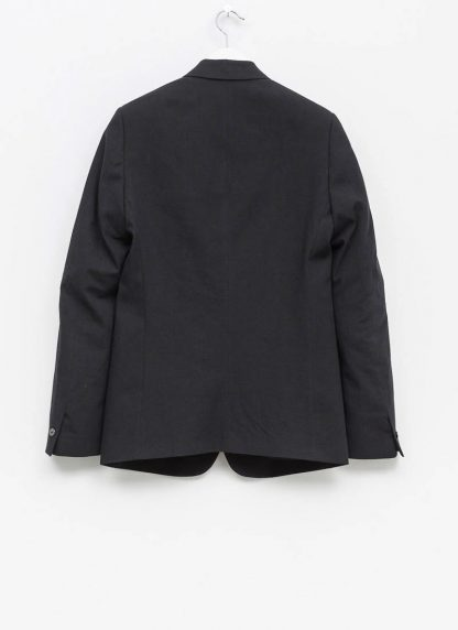 Label Under Construction men formal jacket herren blazer sakko jacke 31FMJC96 CC11B UN cotton acetat black hide m 3