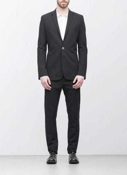 Label Under Construction men formal jacket herren blazer sakko jacke 31FMJC96 CC11B UN cotton acetat black hide m 4