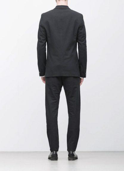 Label Under Construction men formal jacket herren blazer sakko jacke 31FMJC96 CC11B UN cotton acetat black hide m 6