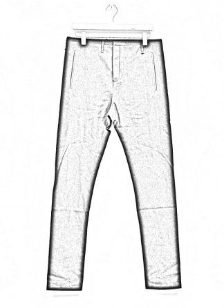 Label Under Construction men one cut pants herren hose 31FMPN90 HD CC11A UN cotton acetat black hide m 1