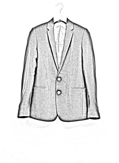 Label Under Construction men slim fit formal jacket herren blazer sakko jacke 31FMCJ97 CL 19B RG cotton linen silk stripes black hide m 1