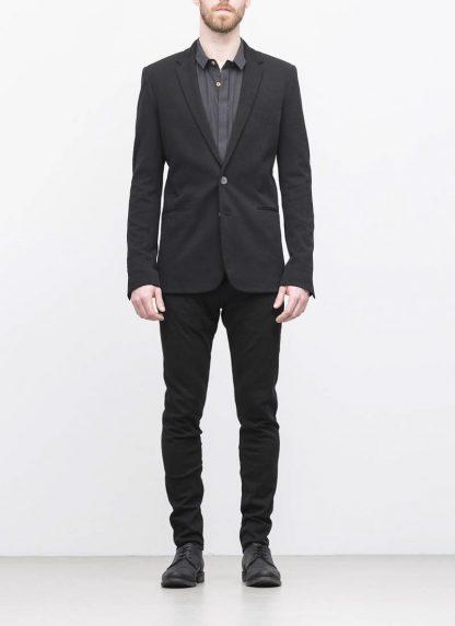 Label Under Construction men slim fit formal jacket herren blazer sakko jacke 31FMJC97 CO201B RG cotton black hide m 5