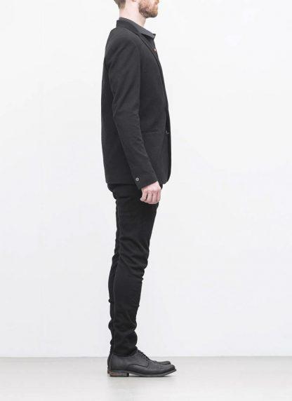 Label Under Construction men slim fit formal jacket herren blazer sakko jacke 31FMJC97 CO201B RG cotton black hide m 6