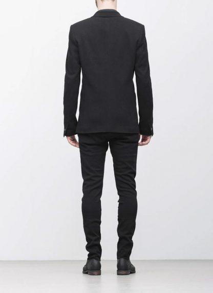 Label Under Construction men slim fit formal jacket herren blazer sakko jacke 31FMJC97 CO201B RG cotton black hide m 7