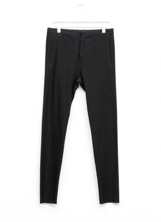 Label Under Construction men slim fit one cut pants herren hose 31FMPN86 CL 19A RG cotton linen silk stripes black hide m 2