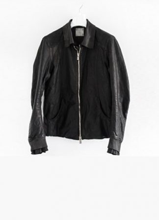Layer 0 For Guidi avm black leather jacket soft horse full grain hide m 2