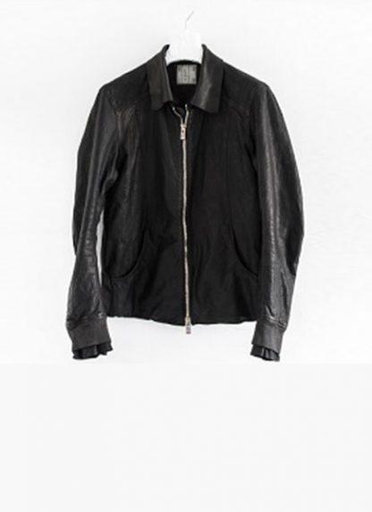 Layer 0 For Guidi avm black leather jacket soft horse full grain hide m 2