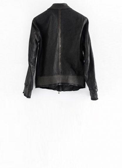 Layer 0 For Guidi avm black leather jacket soft horse full grain hide m 3