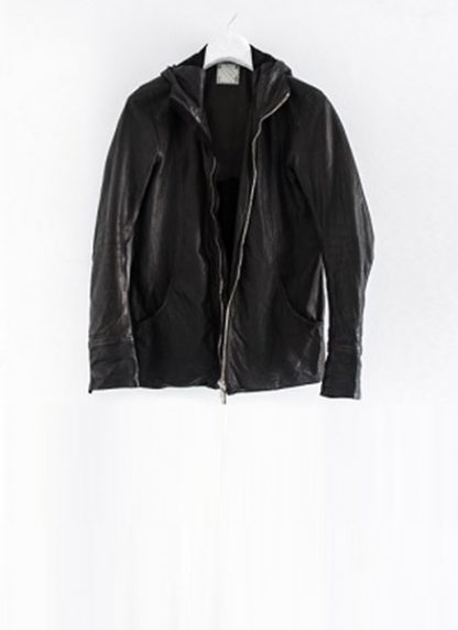 Layer 0 For Guidi cbm black leather hoodie hoody jacket soft horse full grain hide m 2