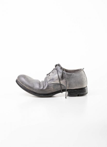 Layer 0 alessio zero men derby shoe stiefel schuh goodyear 1.5 h7 gy goodyear horse shell cordovan rev leather light grey dirty white hide m 3