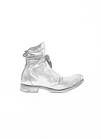 Layer 0 alessio zero men zip up boot derby shoe stiefel schuh goodyear 1.5 h16 zip gy goodyear horse leather black hide m 1