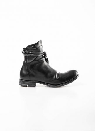 Layer 0 alessio zero men zip up boot derby shoe stiefel schuh goodyear 1.5 h16 zip gy goodyear horse leather black hide m 2