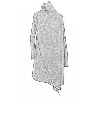 Leon Emanuel Blanck FW18 women distortion wrap cardigan coat alpaca knit black hide m 1