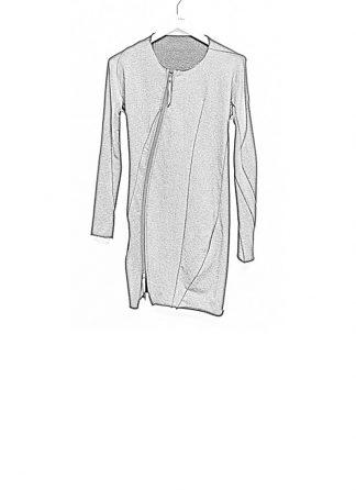 Leon Emanuel Blanck FW18 women distortion zipped dress cotton loop rib black hide m 1