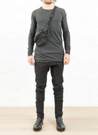 Leon Emanuel Blanck distortion dealer bag DIS DB 01 black horse leather hide m 2