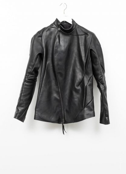 Leon Emanuel Blanck distortion men fencing jacket herren jacke lederjacke horse fullgrain leather black hide m 2