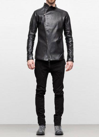 Leon Emanuel Blanck distortion men fencing jacket horse leather black hide m 3