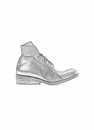 Leon Emanuel Blanck distortion women pointed boot shoe black horse full grain leather hide m 1