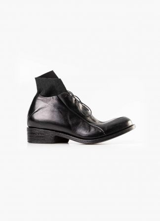 Leon Emanuel Blanck distortion women pointed boot shoe black horse full grain leather hide m 2