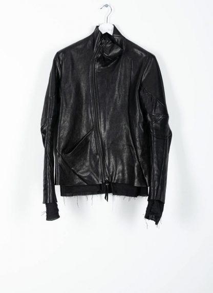 Leon Emanuel Blanck men distortion leather jacket herren jacke lederjacke horse with lining black hide m 2
