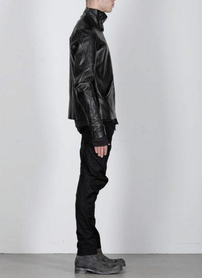 Leon Emanuel Blanck men distortion leather jacket herren jacke lederjacke horse with lining black hide m 6