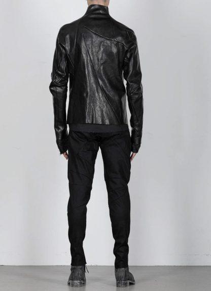 Leon Emanuel Blanck men distortion leather jacket herren jacke lederjacke horse with lining black hide m 7