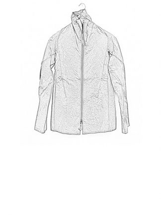 Leon Emanuel Blanck men forced straight jacket grey cotton linen waxed hide m 1
