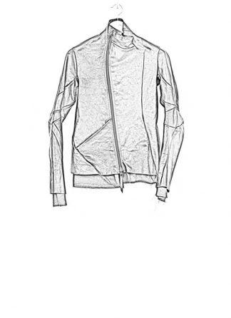 Leon Emanuel Blanck men leather jacket black horse with black lining 17ss hide m 1