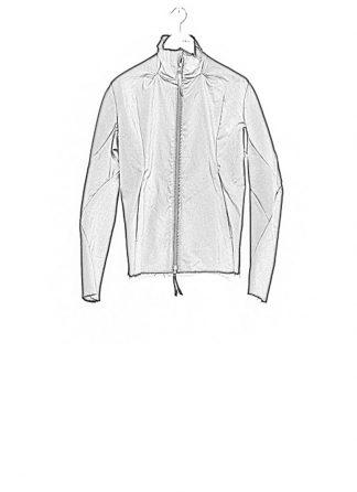 Leon Emanuel Blanck ss18 forced jacket black cotton linen hide m 1