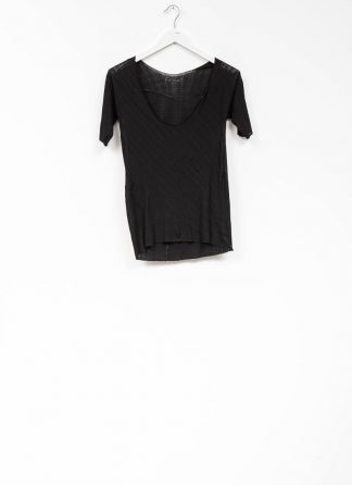 Leon Emanuel Blanck women DIS W LBT 01 distortion low back tee tshirt top cotton black hide m 2