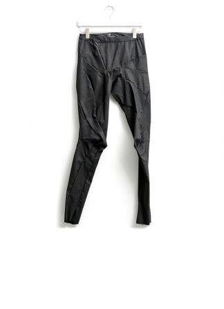 Leon Emanuel Blanck women distortion fitted pants high waist tencel cotton elasthan black FW18 hide m 2