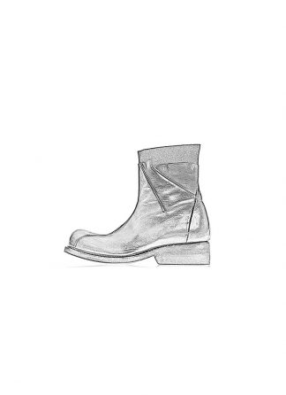 Leon Emanuel Blanck women shoes distortion ankle boots goodyear DIS AB 01 black horse leather hide m 1