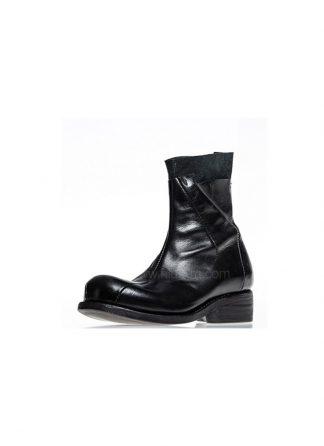 Leon Emanuel Blanck women shoes distortion ankle boots goodyear DIS AB 01 black horse leather hide m 2