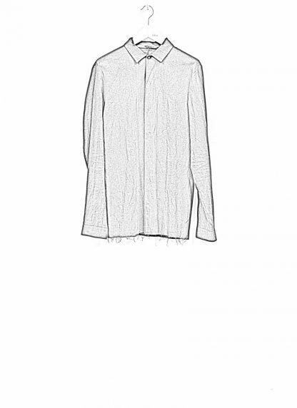 M.A maurizio amadei men fitted shirt H102 black CLR hide m 1