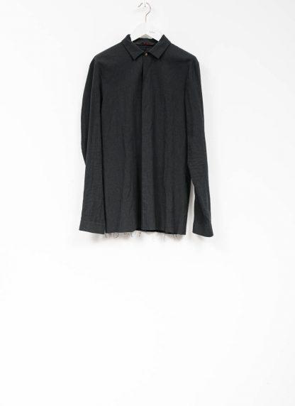 M.A maurizio amadei men fitted shirt H102 black CLR hide m 2