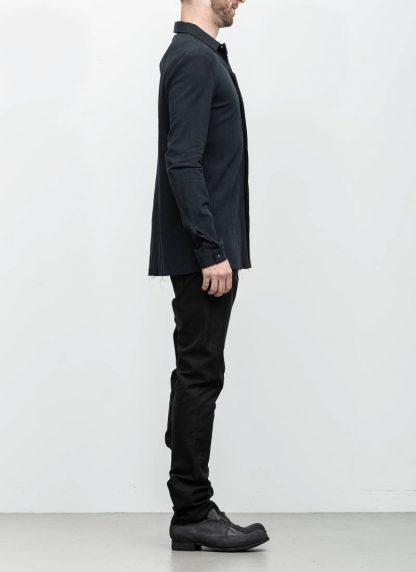 M.A maurizio amadei men fitted shirt H102 black CLR hide m 4