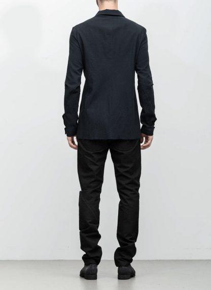 M.A maurizio amadei men fitted shirt H102 black CLR hide m 5
