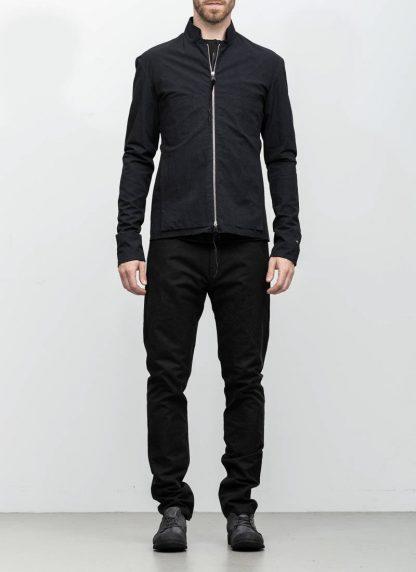M.A maurizio amadei men relaxed biker jacket J227Z black CLR1 hide m 4